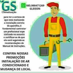 Título do anúncio: Instalação de ar condicionado instalador qualificado