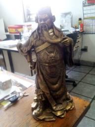 Imagem de buda, 6 kg, 40 cm de alto, fundida em bronze. 043.996.946.028