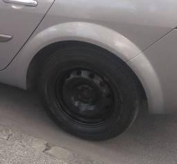 Título do anúncio: Rodas com pneus aro 15, troco rodas 16 com pneus.