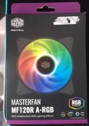 Cooler Fan Cooler Master Masterfan Mf120r Argb