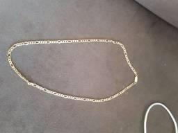 Colar banhando a ouro 60 cm