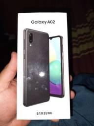 Galaxy A02 na caixa lacrado