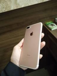 Título do anúncio: iPhone 7 Plus rose ORIGINAL usado
