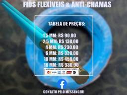 Título do anúncio: Fios flexíveis Anti Chamas!