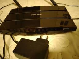 Roteador N600 e extensor TP link