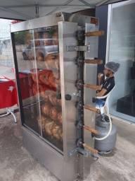 Título do anúncio: Máquina de assar frango