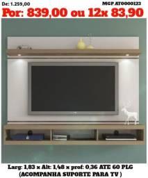 Painel de televisão Grande- Painel de TV até 60 Plg- Sala de Estar= Grande Promoção MS