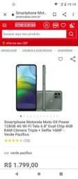 Título do anúncio: Motorola moto g9 Power
