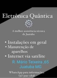 Título do anúncio: Venda, instalação e manutenção de eletrônicos