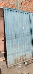 Portão 2,50x2,45