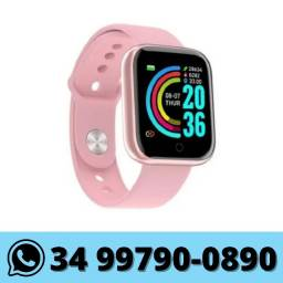 Relógio Smartwatch Inteligente D20 Android e IOS Bluetooth