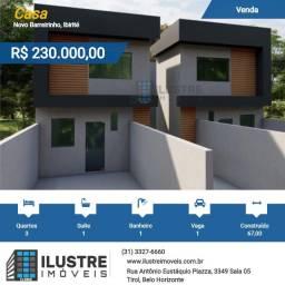 Título do anúncio: Casa à venda 3 quartos Novo Barreirinho em Ibirite, MG
