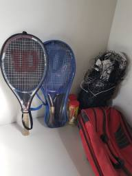 Título do anúncio: Kit jogo de tênis - Wilson
