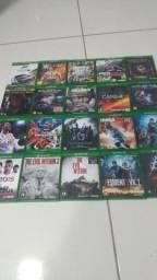 Lote com 20 jogos originais do Xbox one
