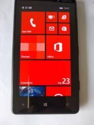 Nokia Lumia Cyan  8Gb Preto ? Claro