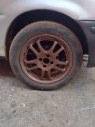 Jogo de rodas 16 com pneus