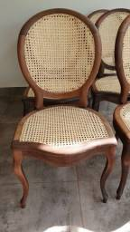 Peças de Antiquário Cadeiras Medalhão Luís XV Restauradas