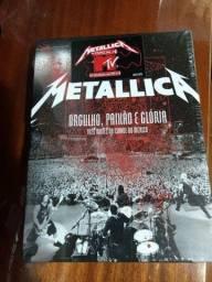 Metallica Três Noites no México 2 DVDs e 2 CDs