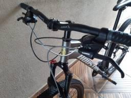 Bicicleta Houston H1 Aro 29 Shimano Mtb 21 Marchas Cinza Fosco