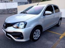 Toyota Etios X Único dono 2019  31 000 km