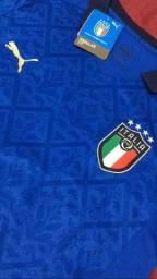 Título do anúncio: Camisa Itália azul 2021