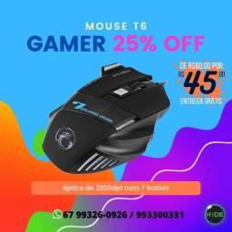 Mouse Gamer 7 botões (entrega grátis)