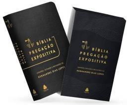 BÍBLIA PREGAÇÃO EXPOSITIVA PRETA - Hernandes Dias Lopes