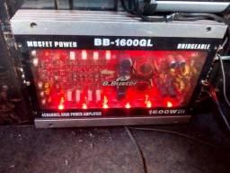 Potência digital 1600w
