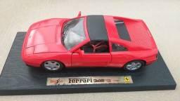 Miniatura Ferrari 348TS Vermelha (1990)