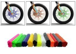Capa de Raio Para Cadereira de Rodas Bicicleta Moto de Trilha
