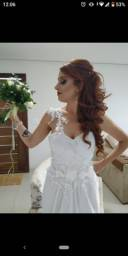 Vestido de noiva usado uma vez