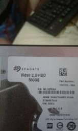 Troco HD seaguete de 500 novo por Placa de video