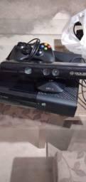 Xbox 360 com Kinect fonte original controle