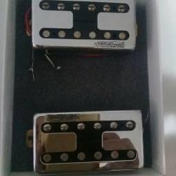 Captadores diversos para guitarra seminovos