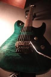 Guitarra Esp Ltd mh100qm green
