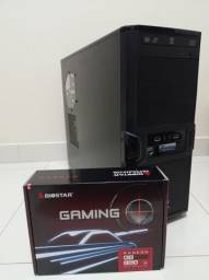 PC Gamer Top: AMD RX 550 | TT V4 Black | SSD 240Gb - Streaming | Edição | Modelagem