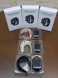 Smartwatch Y68-D20, ( Branco, Preto, Rosa) zero lacrado sem uso !!