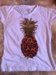 T-shirt nova da loja que fechei