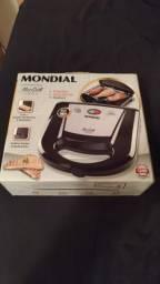 Grill Inox Mondial nunca usado