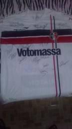 Camisa Santa Cruz Oficial Autografada (Penalty)