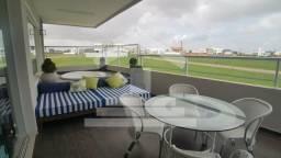 Casa Duplex com 5 suítes _em condomínio fechado _com móveis planejados e iluminação/LED