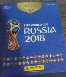 Álbum de Figurinhas da Copa Russia 2018