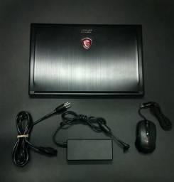 """Notebook MSi GS63: i7 + Gtx 1050 2gb; 16gb; Ssd 128gb + Hd 1tb; 15.6"""""""