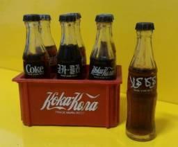 Coleção de garrafinhas Coca-Cola do Mundo