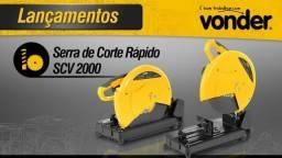 Serra de Corte Rápido 2000W - Vonder-Scv2000