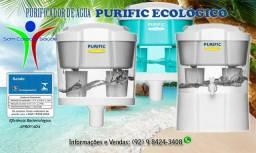 Purificador de Água Purific Ecológico - 10 litros com Eficiência Bacteriológica Aprovada