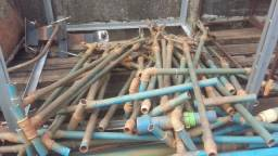 Canos para irrigação de hortalista
