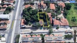 Terreno para alugar, 724 m² por r$ 1.300,00/mês - itaperi - fortaleza/ce