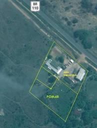 Sitio com Area industrial, area Verde, total 20.000 m2