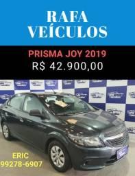 Prisma 1.0 2019 com R$ 1.000,00 de entrada - Eric Rafa Veículos - afr65
